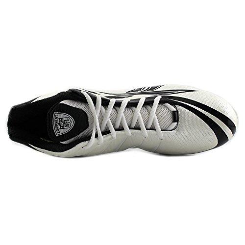 Reebok NFL Burner Speed 5/8 M3 Leder Klampen White/Black