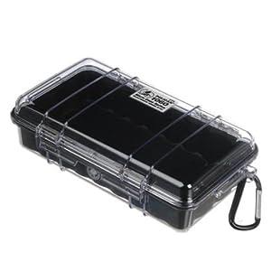 Peli MicroCase 1060 (Couleur: Clair noir) boite plastique
