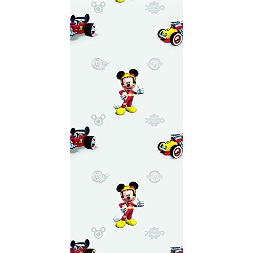 AG Design Fototapete Disney Mickey Mouse Vliestapete Fototapete Kinderzimmer 0,53 x 10,05 1 Rolle WPD 9771 - Kinder, Tapete, Mädchen, Disney