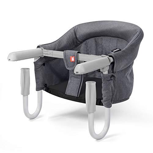 R-CHAIR Baby Hochstuhl Tischsitz Faltbar Babysitz Baby Hochstuhl Sitzerhöhung Für Zu Hause Und Unterwegs Mit Transporttasche,D