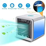 Hk Villa Arctic Air Portable 3 in 1 Conditioner Humidifier Purifier Mini Cooler Arctic Air Humidifier Purifier Mini Cooler, air coolers for house, air coolers for home, air cooler for room and Mini Portable Air Cooler Fan Arctic Air Personal Space Cooler The Quick & Easy Way to Cool Any Space Air Conditioner Device Home