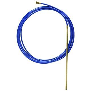 Abicor Binzel 126.M002 PTFE/Messing Kombidrahtführung für 3 m MIG/MAG Schweißbrenner, 0,8 mm Drahtdurchmesser