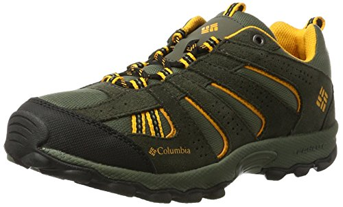 Columbia-Jungen-Youth-North-Plains-Trekking-Wanderhalbschuhe-Braun-Cypress-Super-Solarize-316-37-EU