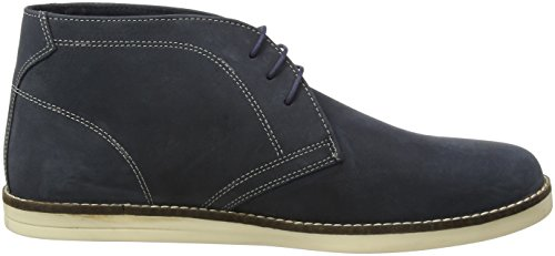 Red Tape Crumlin, Boots classiques homme Bleu Marine
