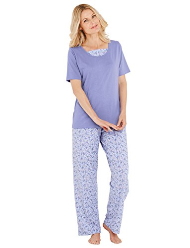 Pyjama Jersey Mesdames Violet