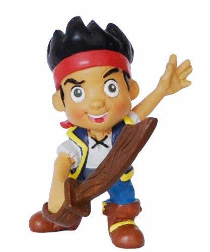 Bullyland 12891 - Spielfigur, Walt Disney Jake und die Nimmerland Piraten, Jake mit Schwert, ca. 6 cm