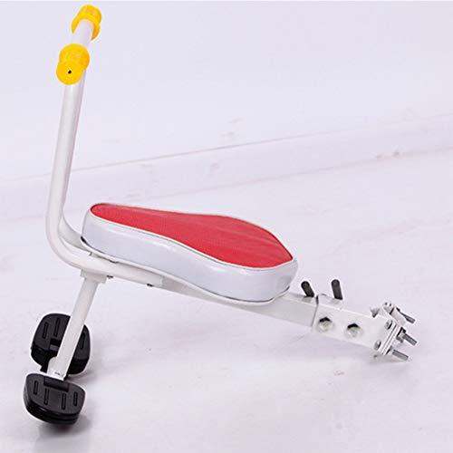 Joyfitness Fahrrad Kindersitz Schnellverschluss Mountainbike Fahrrad Kindersitz Vorne Elektroauto Baby Sicherheit Vordersitz,Red,20x20x45cm