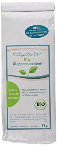 Babyzauber Klapperstorchtee 75 g Bio Kinderwunschtee