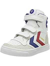 Hummel Unisex-Kinder Stadil Jr Leather High-Top