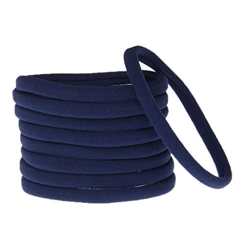 SLYlive Nahtlose elastische Haarzusätze der Kinder - Marine