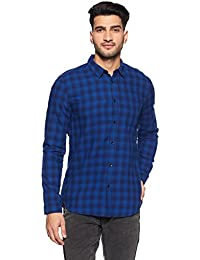 Jack & Jones Men's Slim Fit Cotton Casual Shirt
