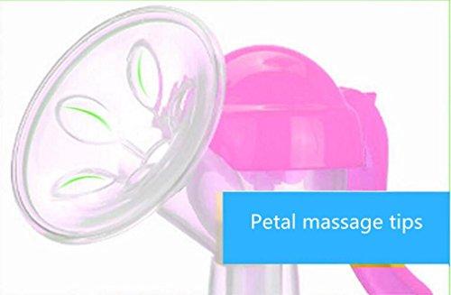 NWYJR Aspiration de pompe Comfort prolactine Grande poitrine Massage mannequin tire-lait manuel