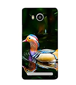 Print Masti Designer Back Case Cover for Lenovo A7700 (Water Floting Mirror Reflection)