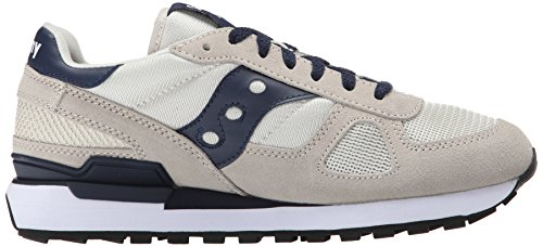 Saucony Shadow Original, Chaussures de Running Compétition Mixte Adulte Beige (Light Tan/Navy)