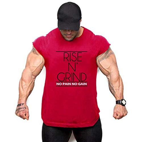 Ärmelloses T-Shirt Tank Top Männer Sommer Pullover Bluse Sport Fitness Offene Gabel Reine Farbe Hem Unregelmäßige Weste Tank Tops Sweatshirt - Baby Thermal Hoodie