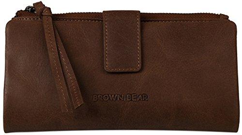 Brown Bear , Portafogli  Unisex adulto Uomo marrone marrone 0