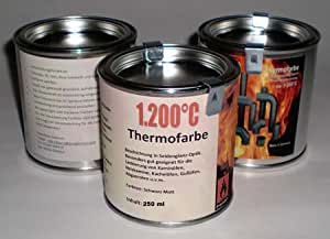 ofenlack 1200 c thermofarbe ofenfarbe thermolack schwarz. Black Bedroom Furniture Sets. Home Design Ideas