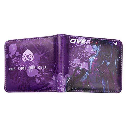 TOPMU Overwatch Gamer Zip Pocket Geldbörse OW-08 -