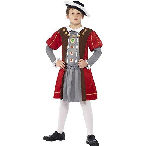 Smiffys Kinder Kostüm Renaissance König Karneval Fasching M 7 bis 9 J. (Kind Renaissance König Kostüme)