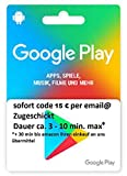 Google Play Gift Card $15 by Google