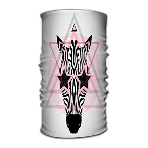 Xunulyn Stirnband Unisex Headbands Elastic Turban Head Wrap Confority Style Hair Band Zebra tribal Style Cool