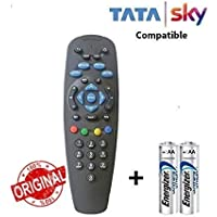 SWASTIK DTH Set Top Box Remote Without Recording Feature, Works for Tata Sky SD/HD/HD+/4K DTH Set Top Box Remote Control