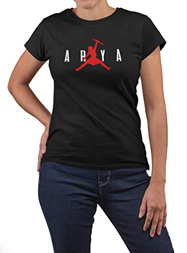 Damen Game of Thrones T-Shirt Arya Stark Funny Jordan Style S-3XL