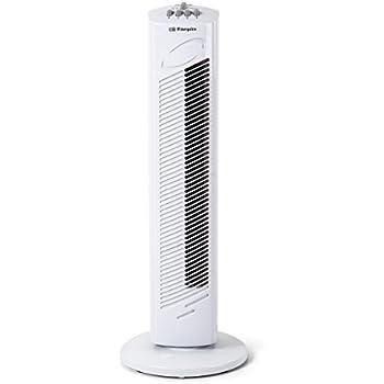 5000 Turmventilator mit 3 Geschwindigkeitsstufen happy event Timer-Abschaltautomatik und Leistung 45 W oszillierend