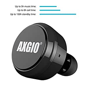 axgio mini pro minimal bluetooth ecouteur avec mic pour apple iphone 6 6 plus 5s 5c 5 4s 4. Black Bedroom Furniture Sets. Home Design Ideas