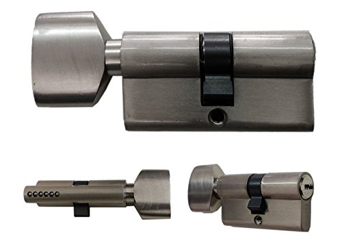 Knaufzylinder in 60 mm (30x30) Schließanlage Gleichschließend mit 5 Schlüssel pro Türschloss NW (4)