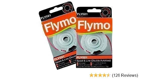 Line /& Spool Cover Fits Twist/'n/'Edge FLY021//FLY060 Flymo Spool
