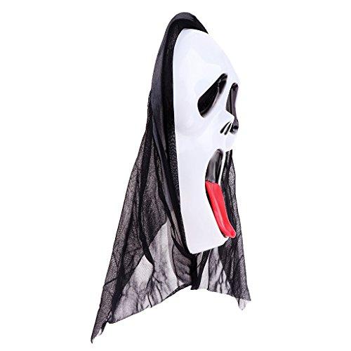 eam Mask - Farbe 4 (Familie Haloween Kostüme)