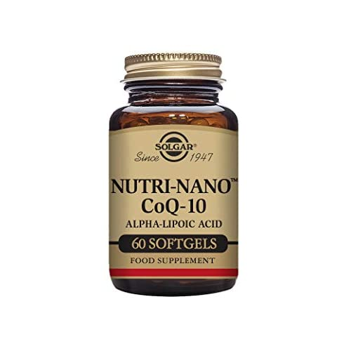 Solgar Nutri-Nano CoQ-10 Alpha Lipoic Acid Softgels – Pack of 60