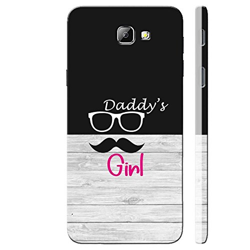 SHAIVYA Designer Soft Cover Having Excellent Printing Daddy's Girl TPU (Rubber) Printed Back Cover Compatible with Samsung Galaxy J5 Prime