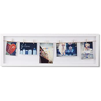 Umbra Luna Nine Opening Collage Frame Wall Decor White
