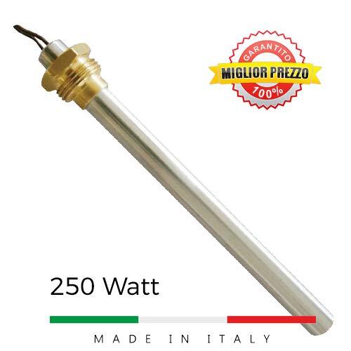 Candeletta accensione stufe a pellet con raccordo 3/8' 250 W HT62650 MCZ Piazzetta Palazzetti