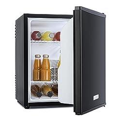 Minibar Klarstein MKS-50 con 40 litri di volume design nero opaco. Ideale per eventi aziendali, ma anche come arredamento per camere d'albergo, ristoranti o interni originali. Il modello HEA-MKS-50 della Klarstein è un frigorifero mini-bar che combin...