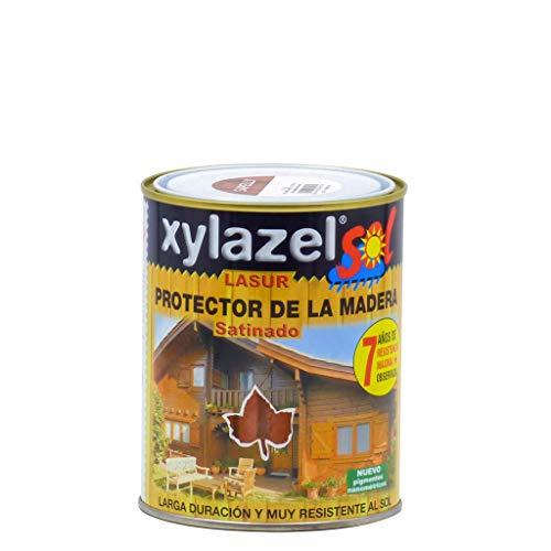 Xylazel - Protector lasur satinado 750ml roble claro