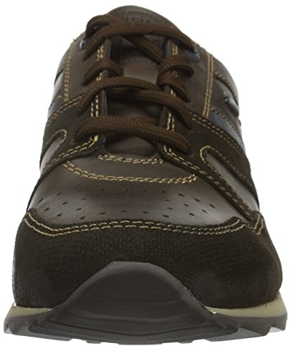 Fretz Men Rocket, Baskets Basses Homme Marron - Braun (59 mokka)