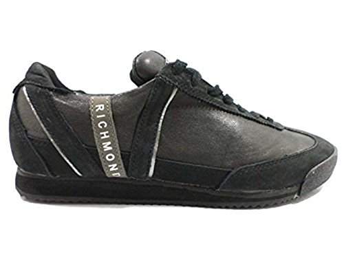 scarpe uomo RICHMOND 40 sneakers nero pelle AY293