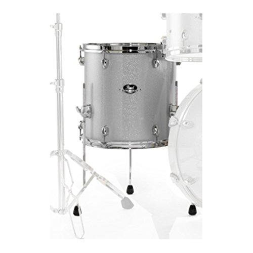 EXX 14 x 14 FLOOR TOM (Artic Sparkle) (Sparkle Toms)