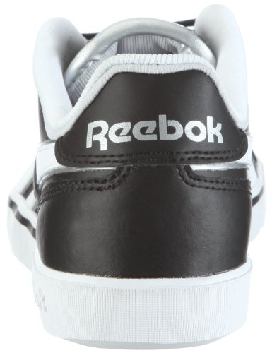 Reebok Breakpoint Low 180147, Scarpe sportive uomo Nero (Schwarz (black/white/silver 1))