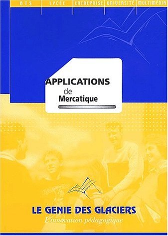 Applications de mercatique by Marie-Camille Debourg (2001-01-01)