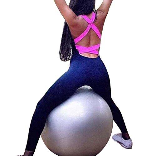 wlgreatsp Donne Allenamento Leggings Opaco Yoga Fitness Palestra Ghette Sport Yoga Pants Lavoro in palestra Fitness Pant Rose Red