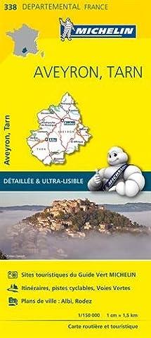 Pyrenees Michelin - Carte Aveyron, Tarn