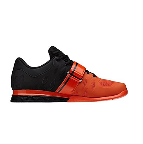 Reebok Crossfit Hebebühne 2.0 Form, Schwarz - Schwarz/Orange - Größe: 12 B(M) US