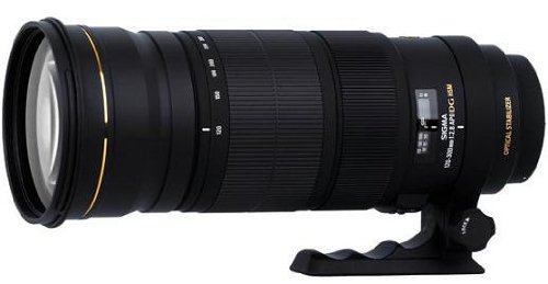Sigma DC lens, APO 120-300mm, F2.8 EX DG OS HSM