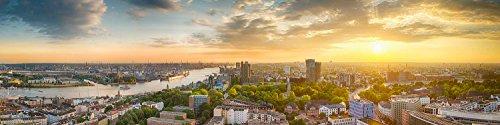 Hamburg Panoramabild. Open Edition. Fotografie Abzug in Galerie Qualität. Druck auf Fine Art Photo Papier, versandfertig Gerollt als Kunst Foto Bild