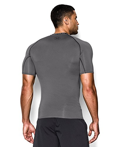 Under Armour Herren Unterhemd HeatGear Armour Graphite/ Black