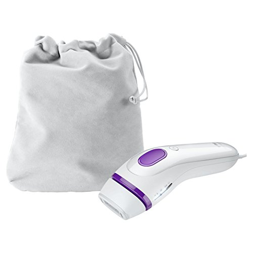 Braun Silk-expert 3 BD 3005 IPL Haarentfernungsgerät, dauerhafte Haarentfernung für Frauen/Männer, mit Aufbewahrungsbeutel, weiß/violett